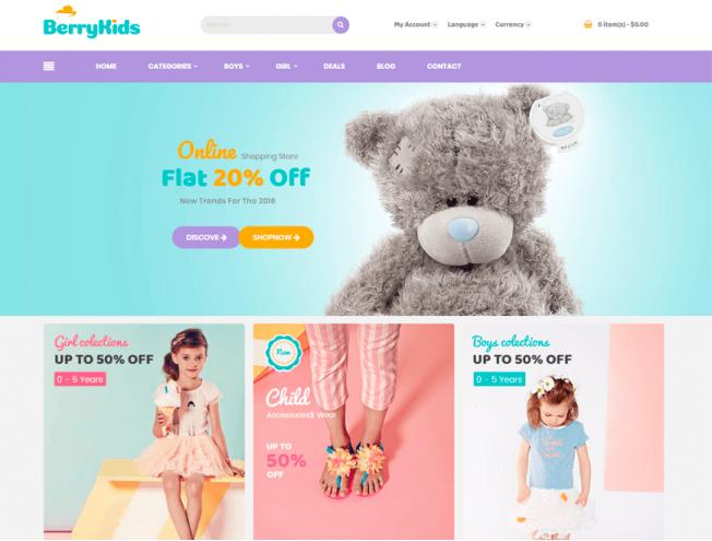 Готовый сайт интернет-магазина на тему магазин одежды для девочек и ... ebd392aca2e